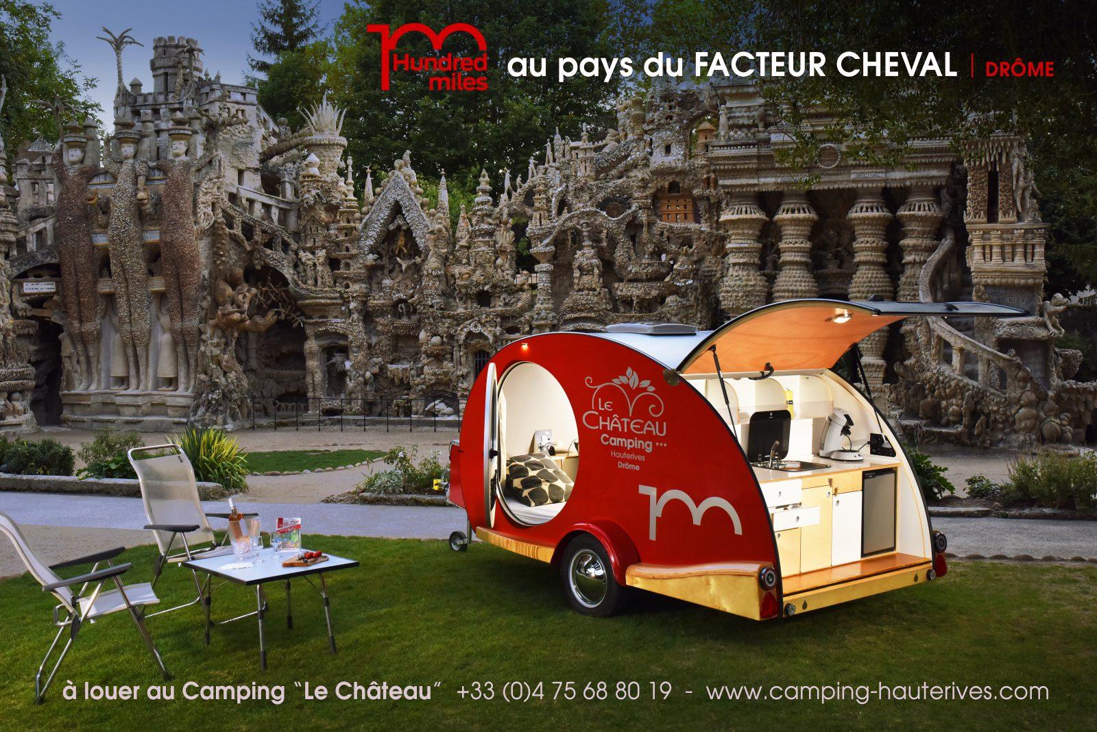 My Drop Hundred Miles au Palais Ideal du Facteur Cheval