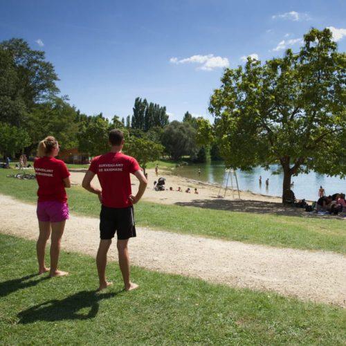 Le lac des Vernets